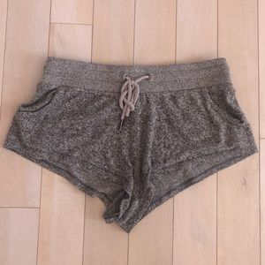 URBAN OUTFITTERS OUT FROM UNDER GRAY SHORTS